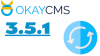 The new version 3.5.1 OkayCMS