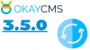 Вышла новая версия ОkayCMS 3.5.0