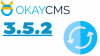 The new version of Okay CMS 3.5.2